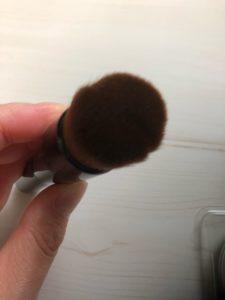 DHCファンデーションブラシの毛